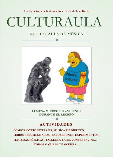 Cartel culturaula